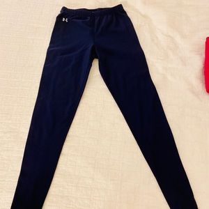 Under Armour Navy fleece lined leggings Size XS